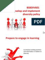 BSBDIV601 PowerPoint Slides V1.0