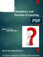 Methapors and Learning Theories.pptx