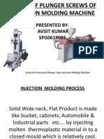 DESIGN OF PLUNGER SCREWS OFINJECTION MOLDING MACHINE
