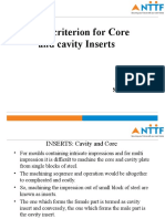 SPG0618005-DESIGN CRITERION FOR CORE AND CAVITY INSERTS.ppt