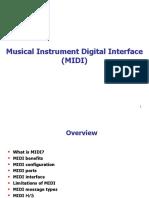 Lecture-10 (MIDI Concept)