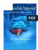 Tu Cerebro Inmortal-El arte de la observacion - Joe Dispenza