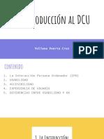 1. Introducción al DCU