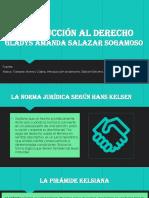 Introducción al derecho GLADYS Amanda Salazar Sogamoso