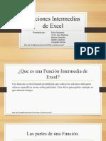 PRESENTACION CLASE SENA Funciones Intermedias de Excel