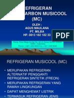 REFRIGERAN MUSICOOL (MC)