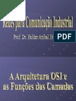 Redes para Automação Industrial - Aula 4 -A Arquitetura OSI e as Funções das Camadas