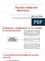 Medidas de coerción Marco León Tomasto