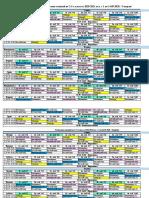 Расписание уроков до 15.09.2020