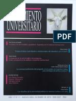 PENSAMIENTO UNIVERSITARIO 2015