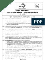 DISCURSIVA DE CIENCIAS CONTÁBEIS