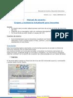 CES-DDGI-GSP- MA-58  Manual Grupos y Asistencia Estudiantil para Docentes v-1-3-0