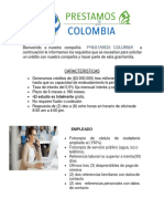 REQUISITOS PRESTAMOS COLOMBIA