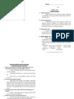 Chapter (14) Organic ကျက်စာ