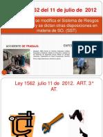 Clase 1.2 AT. EL. Ley 1562 de 2012 (3)