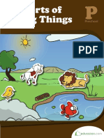 all sorts of living things - workbook