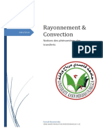 Rayonnement & Convection