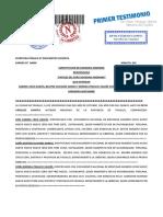 ESCRITURA PUBLICA S.A.