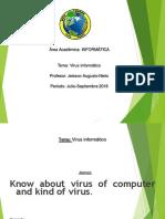 Presentación 1 virus informáticos