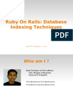 mySQL Database Indexing
