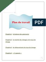 146195317 Balance Du Paiement Et Marche Des Changes