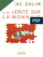 187035326 Pascal Salin La VA RitA Sur La Monnaie PDF