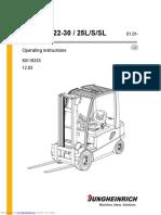Jungheinrich EFG-Vac 22-30 _ 25L_S_SL Service Manual