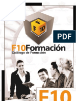 F10 Formación - Catálogo de Formación