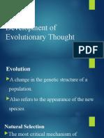 Development of Evolutionary Thought.pptx
