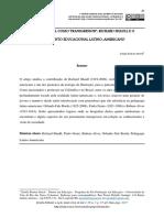 Richard Shaull e o pensamento educacional latino-americano