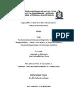 Fundamentacion y Cuidados del Diagnostico de Enfermeria Riesgo de Shock LE. Ada Cristina Martinez Rivera..pdf