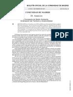 Regulacion escalada en La Pedriza