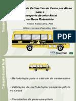 Metodologia custo-aluno e validação Ceará