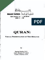 QURAN.visual Presentation of the Miracle
