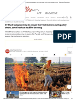 IIT Madras is planning to power thermal stations with paddy straw, could reduce stubble burning  - Education Today News