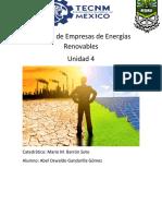 Gestión de Empresas de Energías Renovables