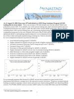 ADAP Watch update - 09.08.09