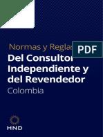 Normas y Reglas del Consultor Independiente Colombia