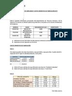 3. Costo MOD y CIF - Enunciados