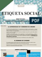 ETIQUETA SOCIALL
