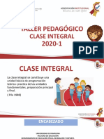 CLASE INTEGRAL