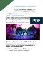 Guia para cazar y recoger partes de Behemots en Dauntless