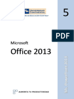 5. MS POWERPOINT