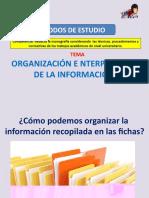 Taller de Organizacion e Interpretacion de La Informacion
