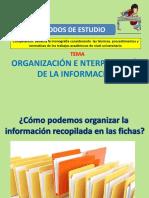 METODO DE ESTUDIOS - ORGANIZACION E INTERPRETACION DE LA INFORMACION.pdf