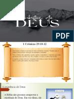 atributos de Deus ebd