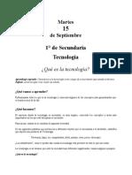 1.TECNOLOGIA PRIMERODESECUNDARIA SEMANA DEL14AL18DESEP