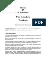 1.-TECNOLOGIATERCERODESECUNDARIASEMANADEL 14 AL 18DESEPTIEMBRE