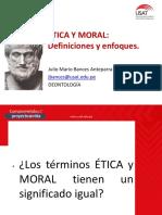 1.2 Ética y Moral