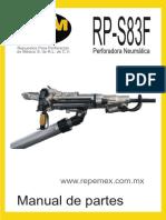 MANUAL RP-S83F